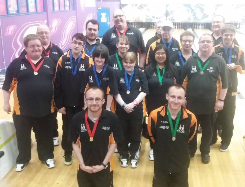 Tenpin Bowling at the Special Olympics Ireland Games