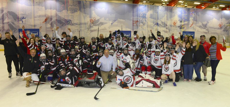 HEROS PROGRAMME TAKES TO THE ICE