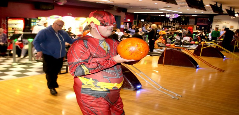 Xtreme Bowling With a Halloween Twist