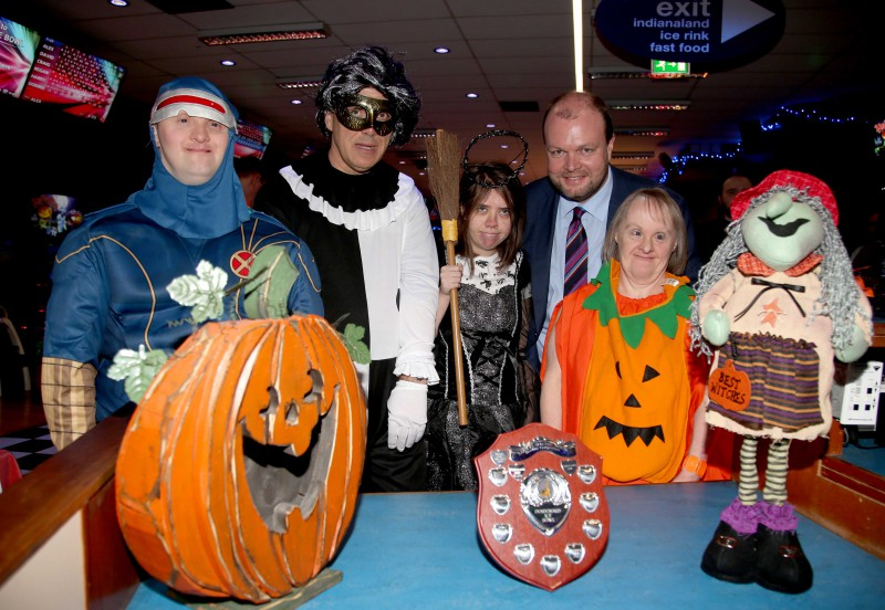 Spooky Fun at Dundonald International Ice Bowl Halloween Bowling Competition