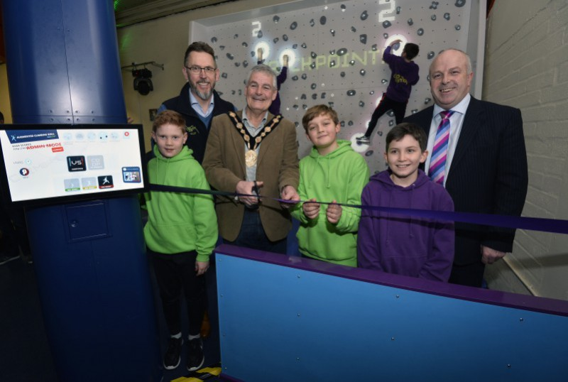 Clip n Climb Launch New Augmented Climbing Wall