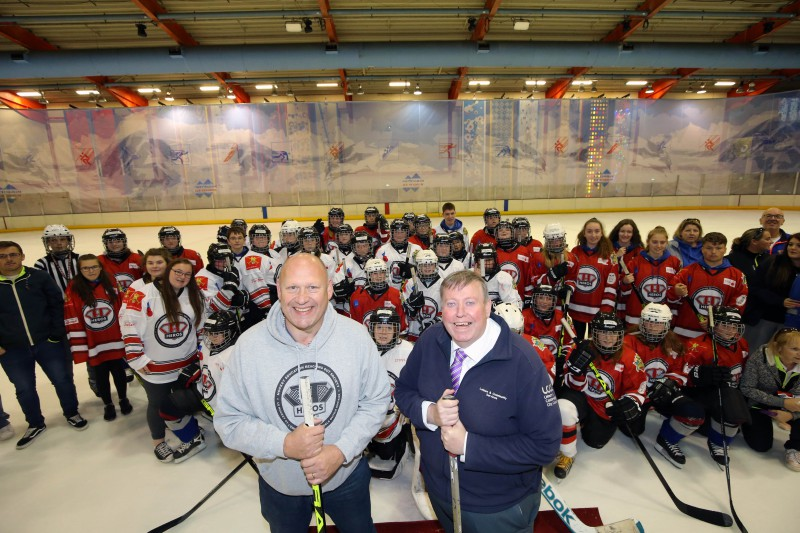 THE HEROS Programme Takes To The Ice