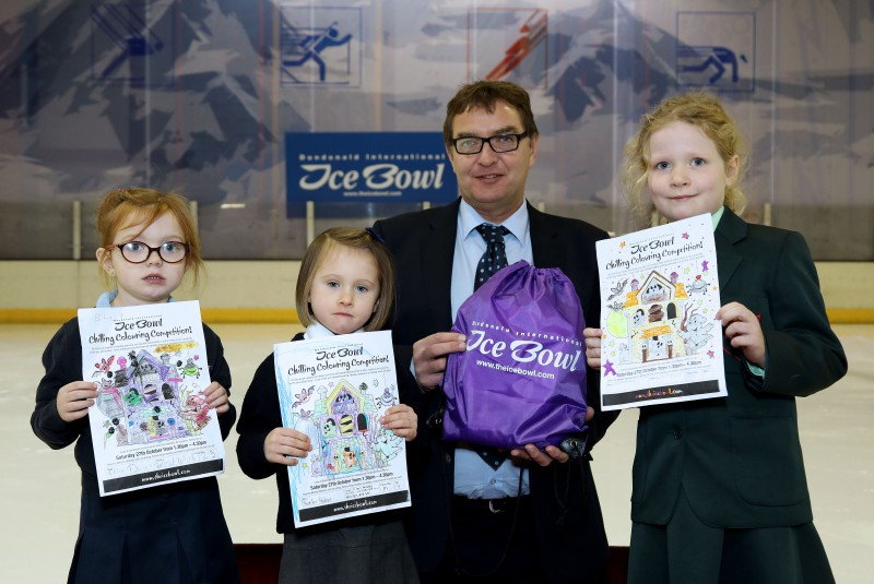 ​Spooktastic Designs In Dundonald International Ice Bowl Schools Competition